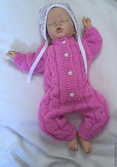 Купить Комбинезон Фламинго - комбинезон детский, комбинезон, комбинезон для малыша, для новорожденного, для новорожденных, на выписку