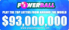 This is one of our most popular lotto's, and is played by millions of folks around the world - make yourself one of them by playing today on www.playlottoworld.com.