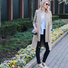 New blog post just went live  Link in bio @eatglitterwith.me Happy Easter everyone  #happyeaster #sundayfunday #fashionblog #outfit #styleinspo #lifestyleblog #ootd #trenchcoat #zara #denim #gucci #espadrilles #springstyle #louisvuittonpochette #eatglitterwithme #egwm