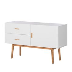 Stylisch, hochwertig und absolut liebevoll. Das luftige, skandinavische Design, des Sideboards, verleiht Deiner Wohnung frischen Wind.