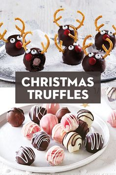 Find your favourite Christmas truffle recipe for the ultimate Christmas day feast. Christmas Truffles, Christmas Deserts, Christmas Food Gifts, Christmas Lunch, Xmas Food, Christmas Cooking, Handmade Christmas, Diy Christmas, Truffle Recipe
