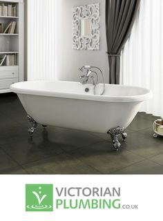 Looking for a grand centrepiece for your vintage bathroom? Look no further than a traditional freestanding bath.