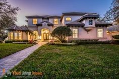 Check out our new Twilight Photography page! Dusk photos shot a few minutes after the sun sets capture your listing or vacation home in a unique. New Twilight, Virtual Tour, Orlando, Real Estate, Tours, Vacation, Mansions, House Styles, Photography