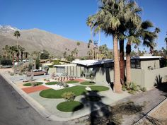 Great shot of Mid Century Homes in Palm Springs...