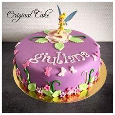 Gâteau d'anniversaire Fée Clochette Découvrez comment faire facilement un beau gâteau d'anniversaire!