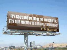 USMC - Billboard