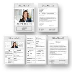 Bewerbung mit Icons in Kacheloptik: So lassen sich Informationen sehr schnell erfassen: Diese Bewerbungsvorlage ist modern strukturiert und signalisiert: Wer sich so präsentiert, verkauft auch sein künftiges Unternehmen erstklassig. Das sehen Personaler sofort. 4 Seiten als Download für Word und Pages. Enthält ein Deckblatt, Bewerbungsanschreiben, Lebenslauf mit Profil, CV Folgeseite, Ausbildung + weitere Erfahrung. Optimiert für Ausdruck und PDF-Export. Profile, Training, Templates