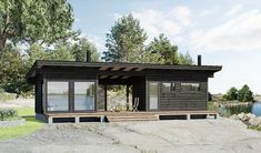 Cabana, Airbnb House, Haus Am See, Long House, Modern Mountain Home, Forest House, Tiny House Plans, Story House, House Roof