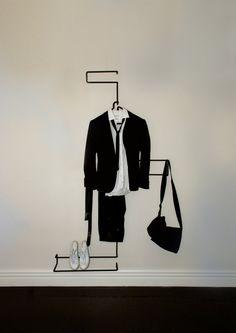 XY Z Suit Rack par Well-Groomed-Fox
