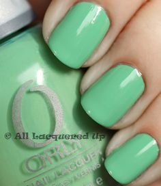 Not usually a fan of blue or green nails...but love this one!!!!