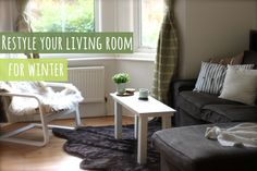 Restyle your living room for winter video by Handmade Home