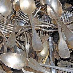 Comment nettoyer l 39 argenterie fait maison blog et - Vinaigre et gros sel ...
