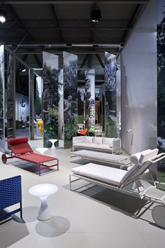 Rimini Collection - Sofa and sunbeds by Fredrikson Stallard