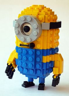 minion3 by car_mp, via Flickr. I NEED INSTRUCTIONS FOR THIS!