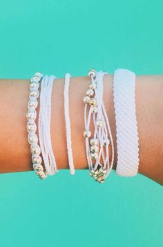 Pretty in White | Pura Vida Bracelets