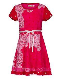 Ventas de todo: Short sleeve dress for girls Precio: EUR - EUR Pink Dress, Girl Outfits, Girls Dresses, Two Piece Skirt Set, Short Sleeve Dresses, Skirts, Clothes, Fabricant, Amazon Fr