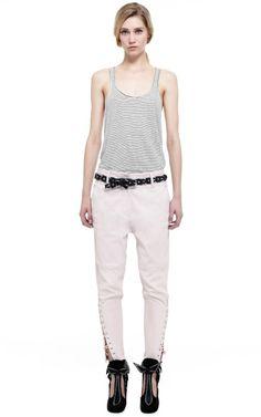 Ecru Flavien Shirt by Isabel Marant - Moda Operandi