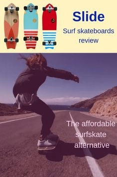 If you're new to surf skating and looking to pick your first surf skate, you should check out Slide skateboards! There are quite a few things that make Slide a great surf skate. They're affordable, quality-built, super fun, great for pumping and commuting, as well as for pool and park. They also also come in gorgeous designs.  Photo credits: Slide Skateboards, Marta Guillem (www.martaguillen.com)