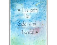 Birth affirmations in vivid watercolours to encourage and inspire women in the wondrous process of giving birth. I painted and hung these in my in my home while preparing for the arrival of my baby son, and I hope that others can be comforted and empowered by them as well.   Withmycupoftea on Etsy.com