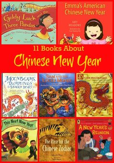 11 Books About Chinese New Year -- enjoy these great children's picture books about celebrating Chinese New Year. Great for teachers and parents.