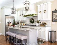 Hi friends!! If you're joining us today for Work It Wednesday, we're taking a short break until the new year. BUT don't leave!! I'm sharing some beautiful Christmas Home Tours today, features from last week's party. I know you'll want to see these. They are absolutely stunning! As we wind down to Christmas Day, I …