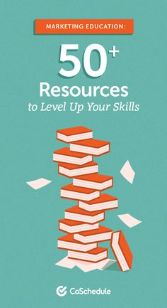 Marketing Education: 50+ Resources to Level Up Your Skills Marketing Tactics, Content Marketing Strategy, Marketing Jobs, Social Media Marketing, Marketing Calendar, Education, Teaching, Onderwijs, Studying