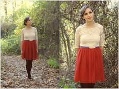 LOVE IT! Vintage Inspired Clothing - Let Your Lace Shine | Vintage, Retro, Indie Style Lookbook