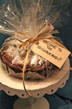 """The """"Welcome to the Neighborhood"""" Bundt cake."""