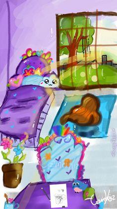 #myroom #çizimcikız #sonysketch #fridayswithsketch I hope someday it will be such a room😊 @Sony Sketch I hope you like it(▰˘◡˘▰)♡