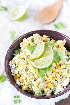 Avocado-Maissalat mit Feta