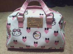 HK strawberry bag