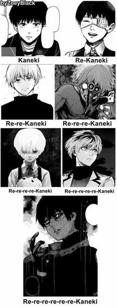 Lololol there's too many kanekis