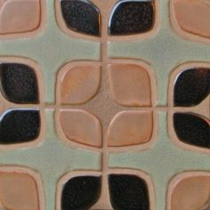 Handmade Tile: Set of 3x3 Durango Squares
