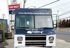 Food Truck Wrap by KNAM Media Group