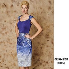 JENNIFER  Short dress with lace skirt and shoulders CODE: 15204