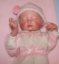 Ashton Drake Newborn Baby Girl Doll w/ Birth Certicate NIB #ASHTONDRAKE #Dolls