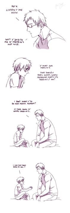 Giving feelings by Hubedihubbe on deviantART. Berwald and Peter.<<< So is it just me or is this the cutest thing ever?!