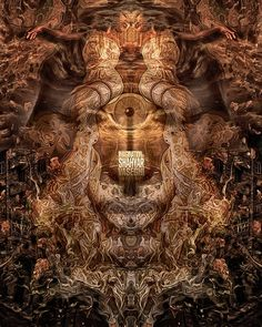 Art of ShahyarVaseghi #Visionary Art #trippy #Psychedelic
