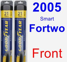 Front Wiper Blade Pack for 2005 Smart Fortwo - Assurance