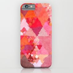 Into the heat - Triangles iPhone & iPod Case