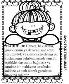 Best Insan Hakları Ve Demokrasi Haftası Okul öncesi şiir Image