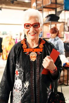 Advanced Style: London book launch - That's Not My Age