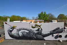 RICHMOND (US) -the Richmond Mural project by ROA !, via Flickr