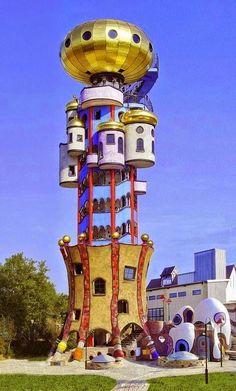 friedensreich hundertwasser - Kuchlbauer Tower - Bavaria, Germany