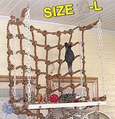Bird Cages & Nests Parrot Winter Nest Hammock And Autumn Warm Cotton Removable Triangle Bed Bird Cage Decorative Swing Oiseau Bird Supplies