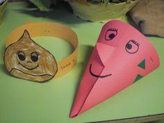 RAQUEL INFANTIL: MAGOSTO EN EL COLE Arts And Crafts, Diy Crafts, Halloween, Babys, Sint Maarten, Crafts For Kids, Crafts, Activities, Kid Art