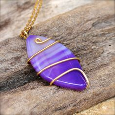 Purple Surfboard Jewelry from Hawaii  by MermaidTearsDesigns