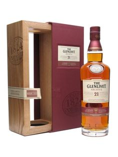 Glenlivet 21 Year Old Archive,  a scotch that sits nicely at the intersection of my tastes and my budget
