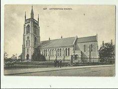 Leytonstone Church Vintage Postcard 0626 One 7, All In One, East London, Notre Dame, Taj Mahal, Ebay, Vintage, Vintage Comics