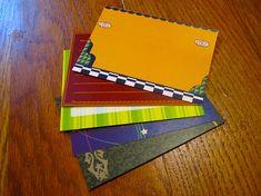 New Leaf Sale - Animal Crossing Stationary Notecards - Bold Set, 10 cards per set